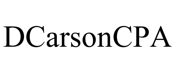 DCarsonCPA on Financial Sector Regulatory Compliance lines for Project support