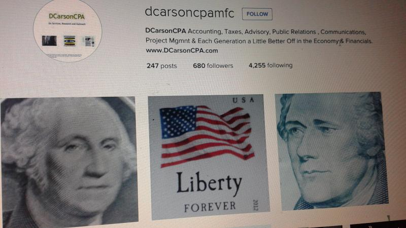 DCarsonCPA Founders and Liberty / the roots of Arts and Freedom of EXpression