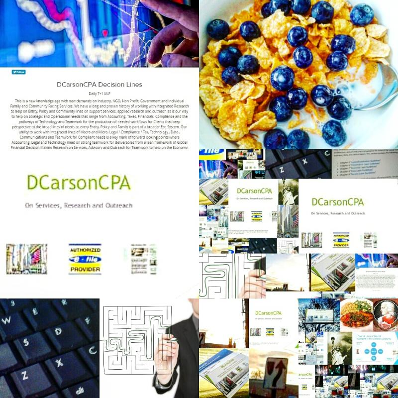DCarsonCPA Tech lines on Emergent Coding, Project Management + Business Analysis