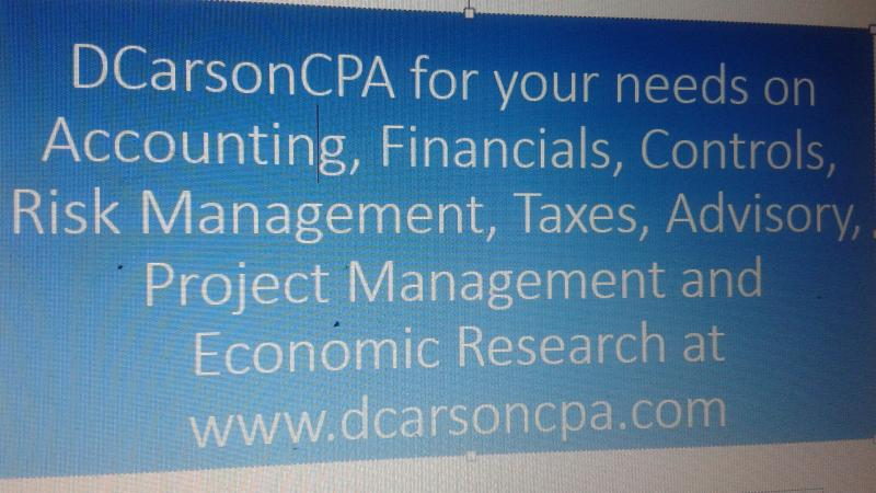 DCarsonCPA Risk Management Lines on Insurance Industry support lines